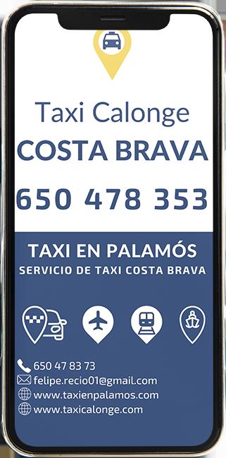 Reserva tu taxi para realizar rutas turísticas o cualquier traslado con Taxi en Palamós