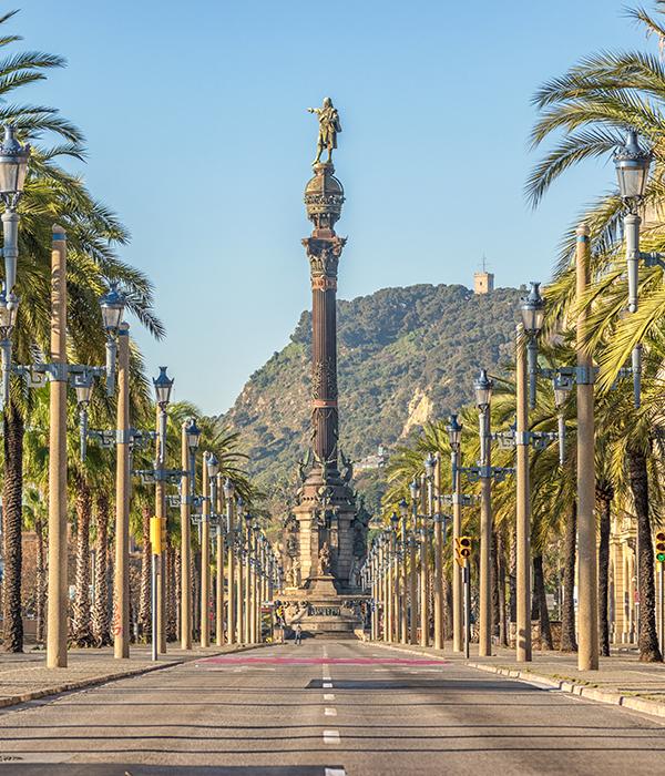 Ruta por Barcelona con taxi en Palamós y Calonge. Costa Brava